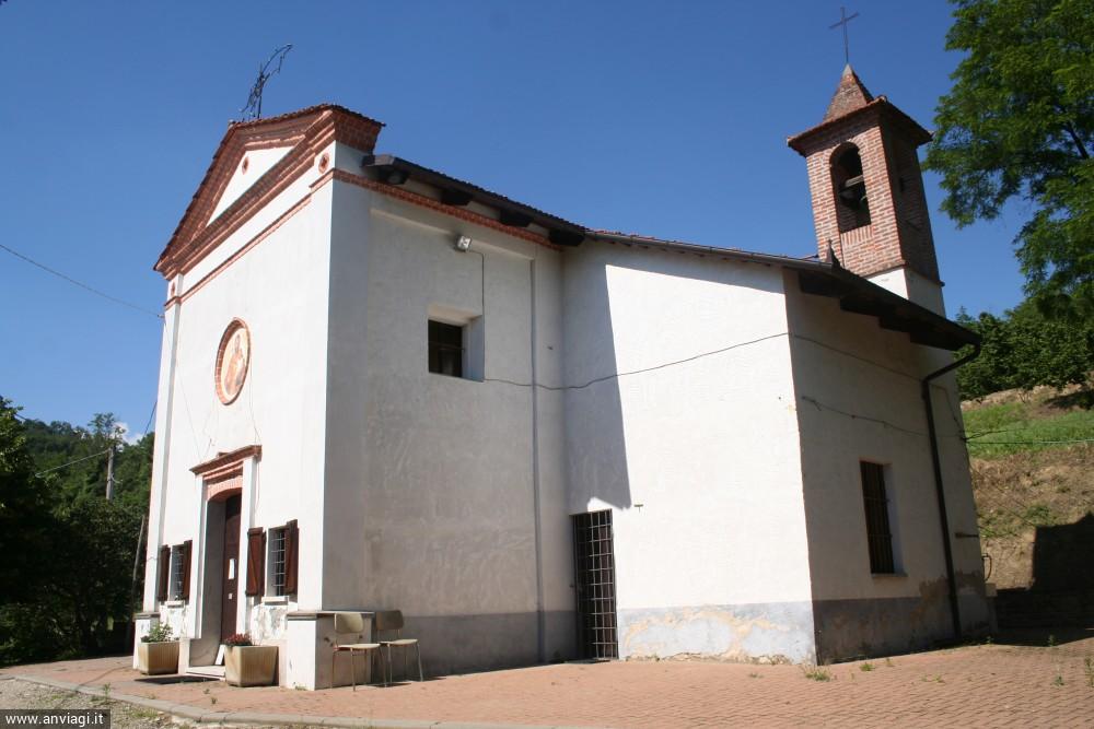 Chiesa di San Giuseppe a Cerretto Langhe. <span class='photo-by'>Photo: Diego De Finis.</span>