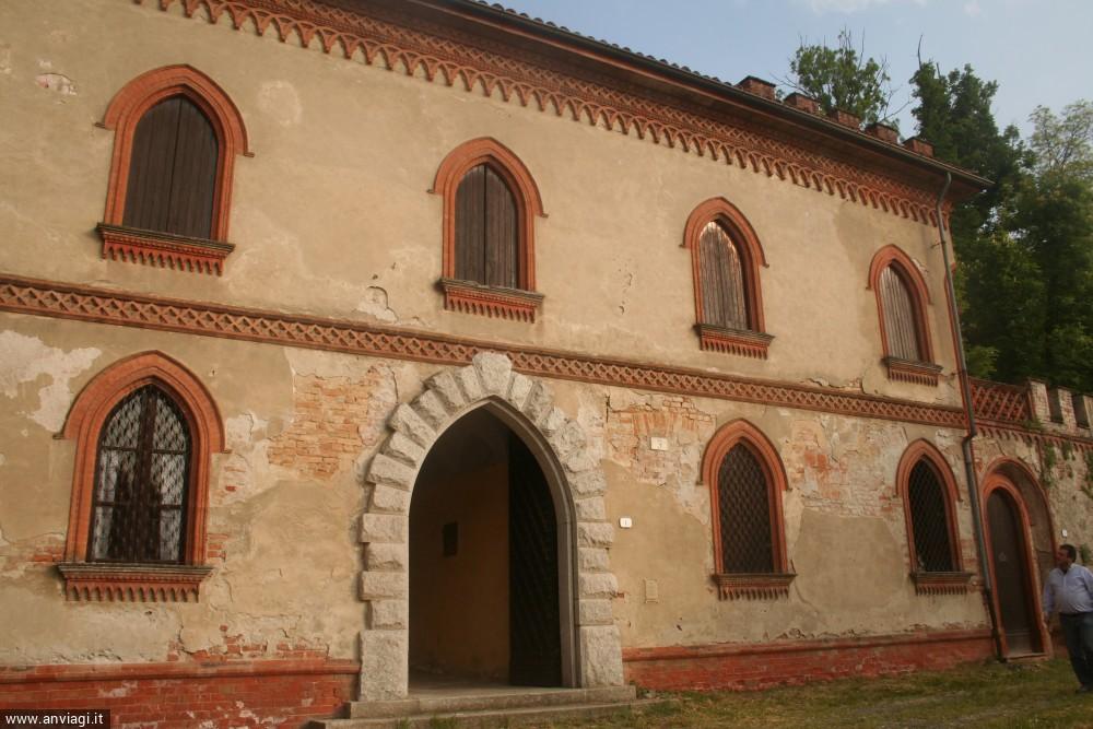La facciata del Castello nuovo a Incisa. <span class='photo-by'>Photo: Diego De Finis.</span>