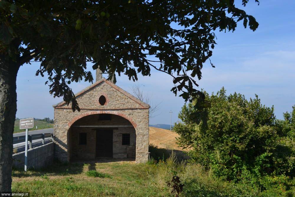 La cappella di San Rocco a Mombarcaro. <span class='photo-by'>Photo: Stefano Bevione.</span>